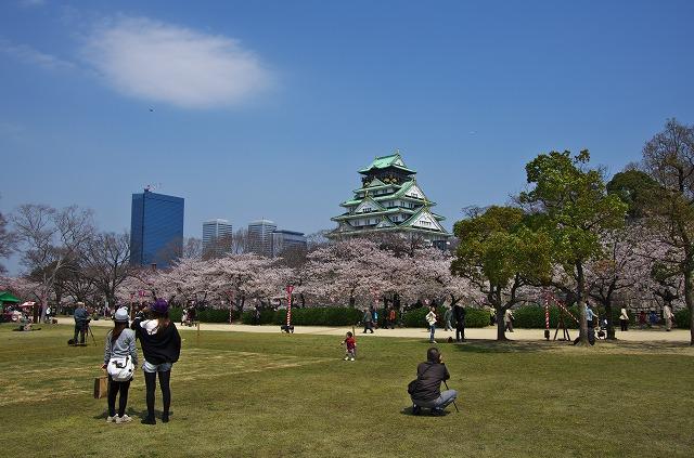 1大阪城公園 西の丸庭園