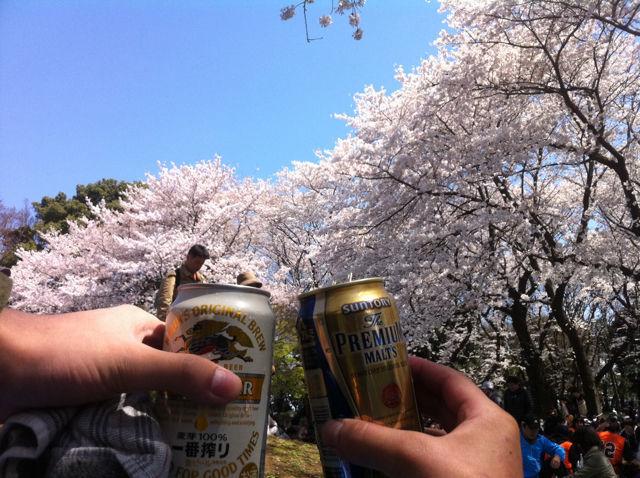 1舎人公園お花見バーベキューパーティー